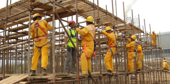 Formation travail en hauteur en Afrique